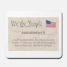 Amendment II Mousepad
