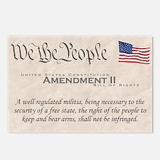 Amendment II Postcards (Package of 8)