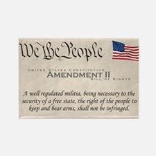 Amendment II Rectangle Magnet