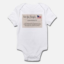 Amendment II Infant Bodysuit