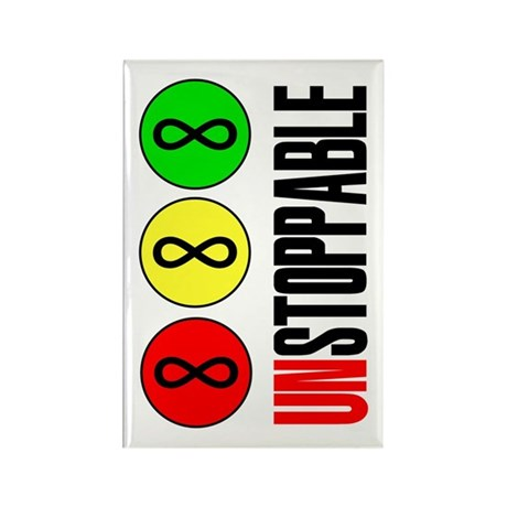 Unstoppable Infinity Math Forever Rectangle Magnet