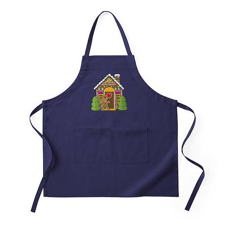 Gingerbread House Apron (dark)