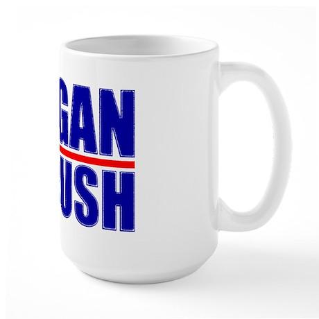 """""""Reagan/Bush '80"""" Large Mug"""