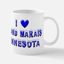 I Love Grand Marais Winter Mug