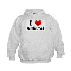 I Love the Gunflint Trail Hoodie