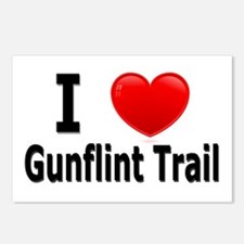 I Love the Gunflint Trail Postcards (Package of 8)