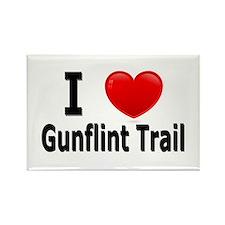 I Love the Gunflint Trail Rectangle Magnet