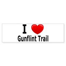 I Love the Gunflint Trail Bumper Sticker (10 pk)