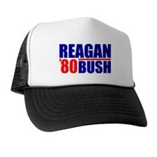 """Reagan/Bush '80"" Trucker Hat"