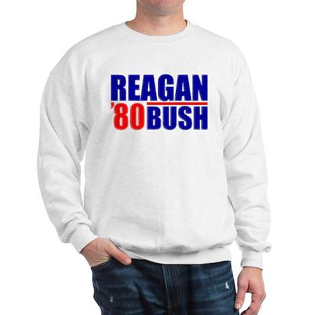 """""""Reagan/Bush '80"""" Sweatshirt"""