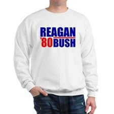 """Reagan/Bush '80"" Sweatshirt"