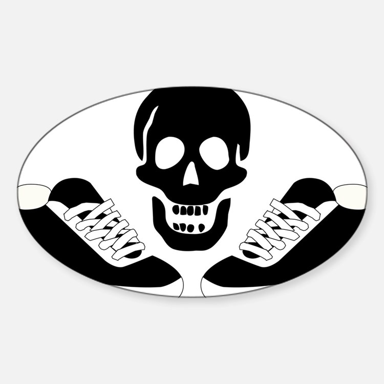 Live to run, run to live! Oval Decal