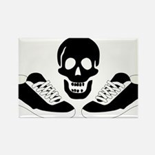 Live to run, run to live! Rectangle Magnet