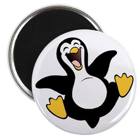 "Skuzzo Happy Penguin 2.25"" Magnet (100 pack)"