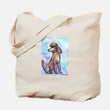 Brown Poodle Gifts Tote Bag