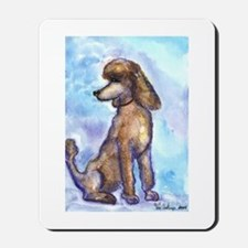 Brown Poodle Gifts Mousepad