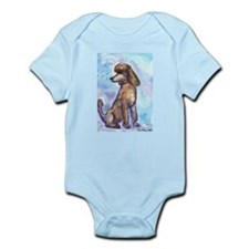 Brown Poodle Gifts Infant Creeper