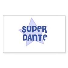 Super Dante Rectangle Decal