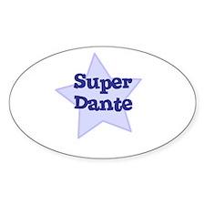 Super Dante Oval Decal