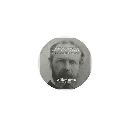 Funny Quotes: William James Mini Button (100 pack)