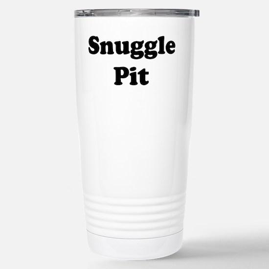 Snuggle Pit Stainless Steel Travel Mug
