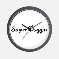 Super Doggin' Wall Clock