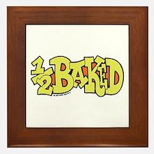 1/2 Baked Framed Tile