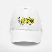 1/2 Baked Baseball Baseball Cap