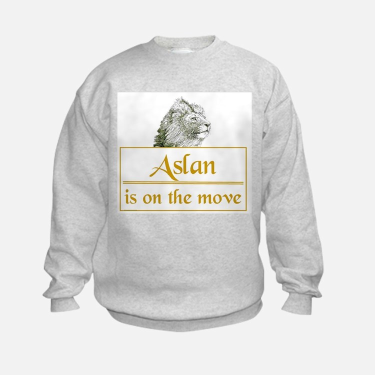 Aslan is on the move Sweatshirt