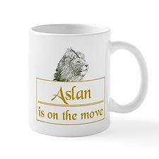 Aslan is on the move Small Mug