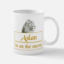 Aslan is on the move Small Small Mug