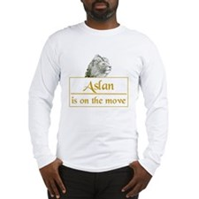 Aslan is on the move Long Sleeve T-Shirt