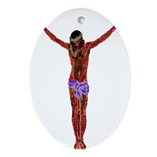 This Is It Oval Ornament