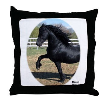 BARON Throw Pillow