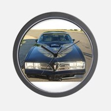 Firebird Trans Am Front Wall Clock