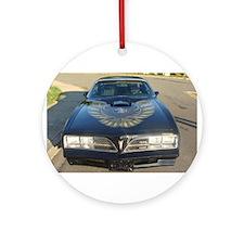 Firebird Trans Am Front Ornament (Round)