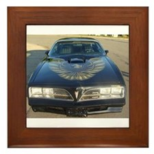 Firebird Trans Am Front Framed Tile