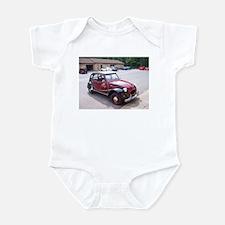 2CV Red Infant Bodysuit