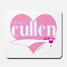 Edward Cullen Stole My Heart Mousepad