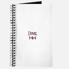 Unique I love mimi Journal