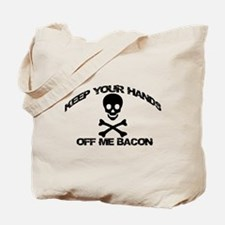 BACON PIRATE Tote Bag