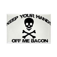 BACON PIRATE Rectangle Magnet