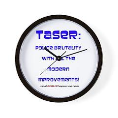 TASER Wall Clock