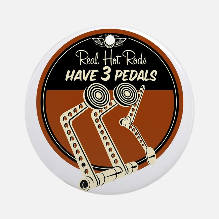 Real Hot Rods Ornament (Round)