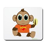 Love Monkey Mousepad