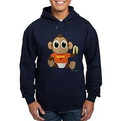 Love Monkey Hoodie (dark)