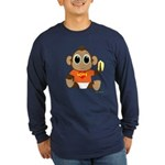 Love Monkey Long Sleeve Dark T-Shirt (colors)
