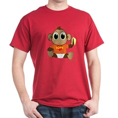 Love Monkey T-Shirt (many colors available)