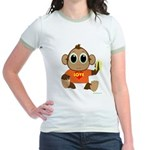 Love Monkey Jr. Ringer T-Shirt (colors)