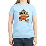 Love Monkey Women's Light T-Shirt (colors)